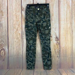 ➡️Ashley Mason Camouflage Cargo Skinny Size 25